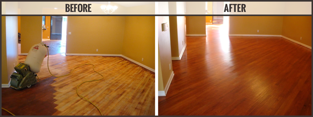 Craftsman Custom Flooring Services Hardwood Sanding