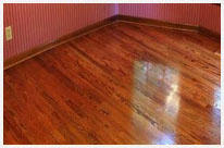 Sanding & Refinishing Wood Flooring